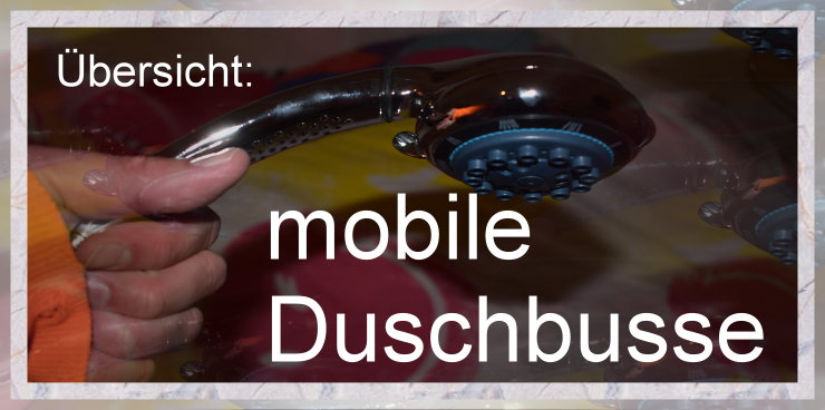 mobile duschbusse- Obdachlosigkeit